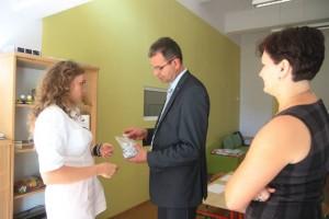 Gość wnaszym przedszkolu- Pan Sławomir Lorek zastępca prezydenta Konina