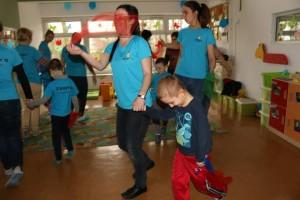 przedszkole Pinokio wKoninie- autyzm na niebiesko