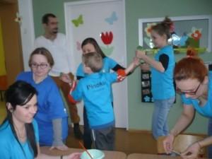 Światowy Dzień Na Rzecz Autyzmu, Konin 2015, Przedszkole Pinokio