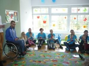 Przedszkole Pinokio wKoninie- niebiesko dla autyzmu