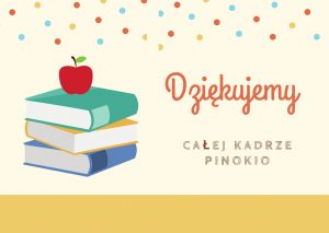 Cream Polka Dots Teacher Thank You Card